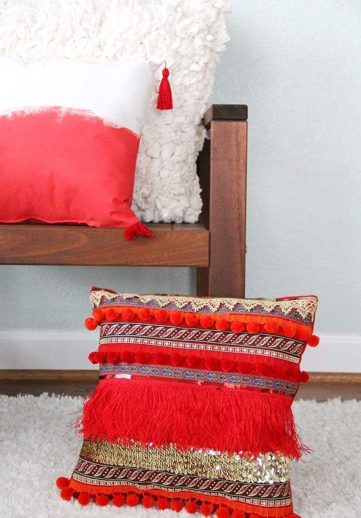 1000 Id Es Sur Le Th Me Coussins De Canap Rouges Sur Pinterest Oreillers Rouges Accents