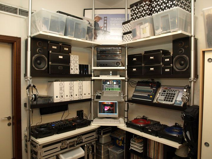 41 best home dj studio images on pinterest | dj booth, dj