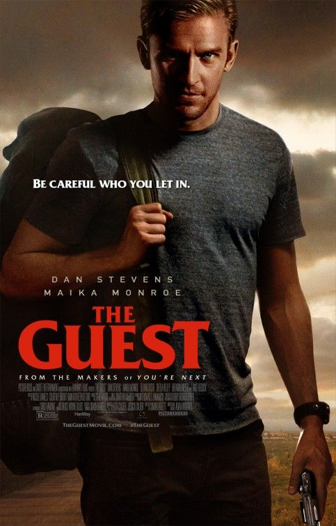 'The Guest (2014)'-9/11/14 Boasting enough intelligence to bolster its darkly violent thrills, The Guest offers another treat for genre fans from director Adam Wingard.
