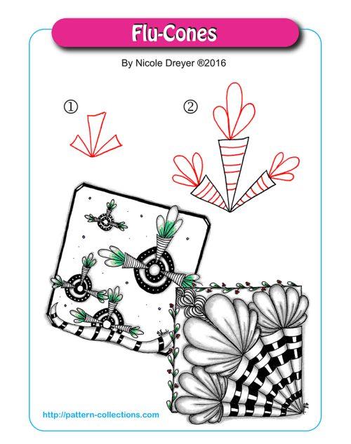 1306 best zentangle images on Pinterest | Doodles