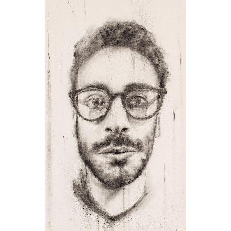 David Fooks - Q&S 48. Firas Charcoal Portrait