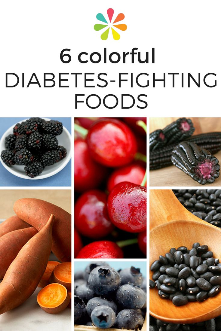 233 best type 2 diabetes images on pinterest diabetic living 6 colorful diabetes fighting foods forumfinder Image collections