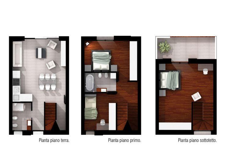 Danilo Drudi, Paolo Lazzarini · Progetto per sei case a schiera a Misano Monte · Divisare
