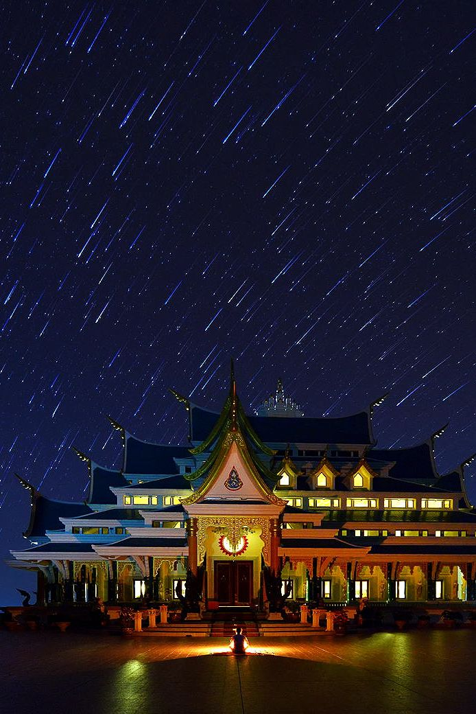 Temple at the forest in Udon Thani Province, Thailand
