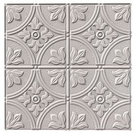 Fasade�24-1/2-in x 48-1/2-in Fasade Traditional Ceiling Tile Panel.  This is what I want to do on the ceiling at entryway and front room (they share a ceiling).  Expensive, but would be so elegant.  And easier than scrapping off the popcorn and replastering.