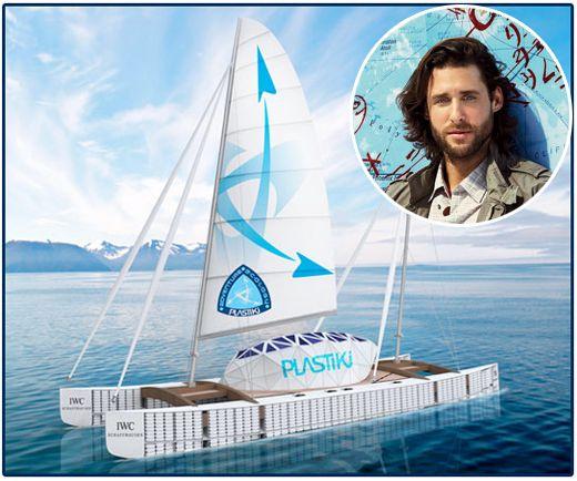 Plastiki o Barco de Garrafas de Plástico que cruzou o Oceano