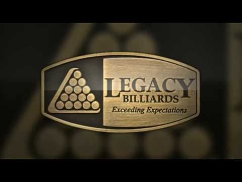 Legacy Billiards Presentation Video: Best Pool Tables & Billiard Tables