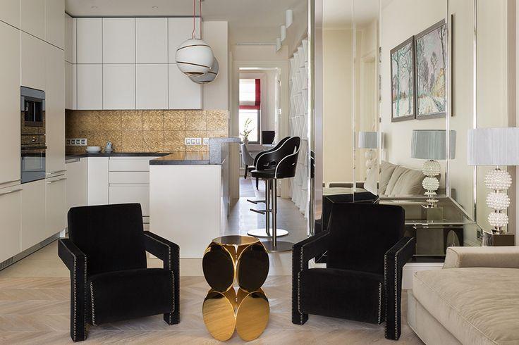 Проект современной московской квартиры на Покровском бульваре  Квартира оформлялась для семьи (родителей и ребенка-подростка). Основной идеей дизайна был нейтральный интерьер с эффектными акцентами.   #дизайн #интерьер #дизайнинтерьера #мебель #дизайнерскаямебель #мебельныйтекстиль #коллекциятканей #мебельныеткани #фурнитура #новаяколлекция #красиваямебель #уютныйдом #дом #квартира #дизайнерскиерешения #текстиль #ткани #нубук #мебельныйнубук #велюр #мебельныйвелюр #микровелюр #мебельныйвелюр…