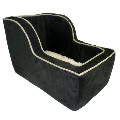 Snoozer Luxury High Back Console Lookout, Black with Herringbone Cording, Large | Buy Online | Ubuy Australia