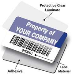 Aluminium Foil Labels - highly durable premium label material suitable for identification and asset labels for both indoor and outdoor use giving a high performance label solution for extreme situations.