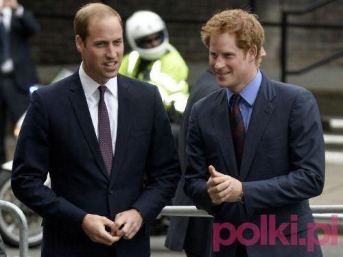 Książę William i książę Harry #polkipl