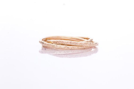 Handmade Gold Filled Trinity Ring by MichiyoArai on Etsy