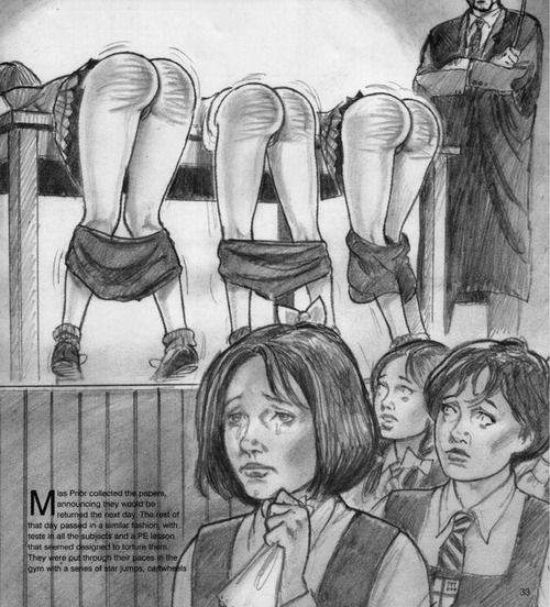 Art bare bottom spanking