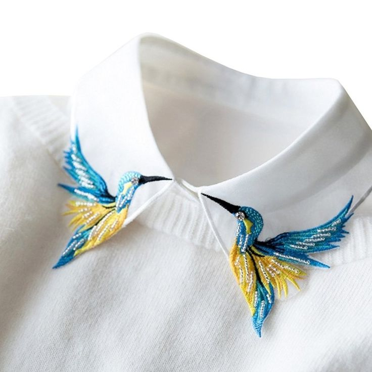 "Promising review: ""I don't usually write reviews, but this product exceeded my expectations and I am extremely pleased. The collar itself is a bit sheer and the hummingbirds are surprisingly detailed."" —Amazon CustomerGet it from Amazon for $12.99. See BuzzFeed's full review here."