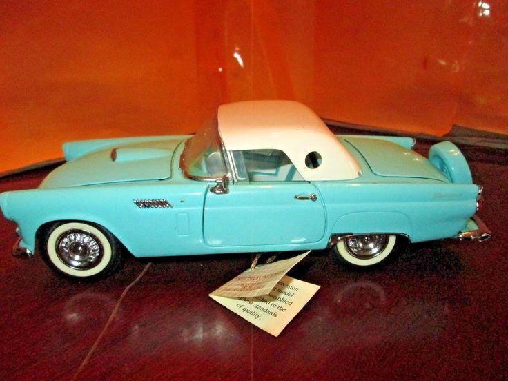 Franklin Mint 1956 Ford Thunderbird 1:24 Diecast No Box #FranklinMint