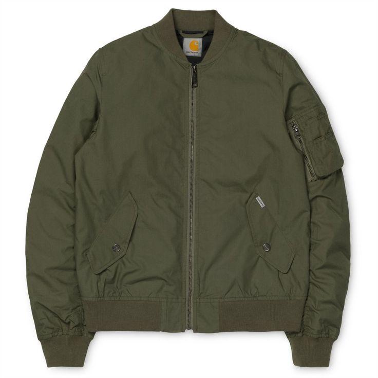X' Adams Jacket Leaf #chaqueta #cazadora #modahombre #Parafernalia #CarharttWIP