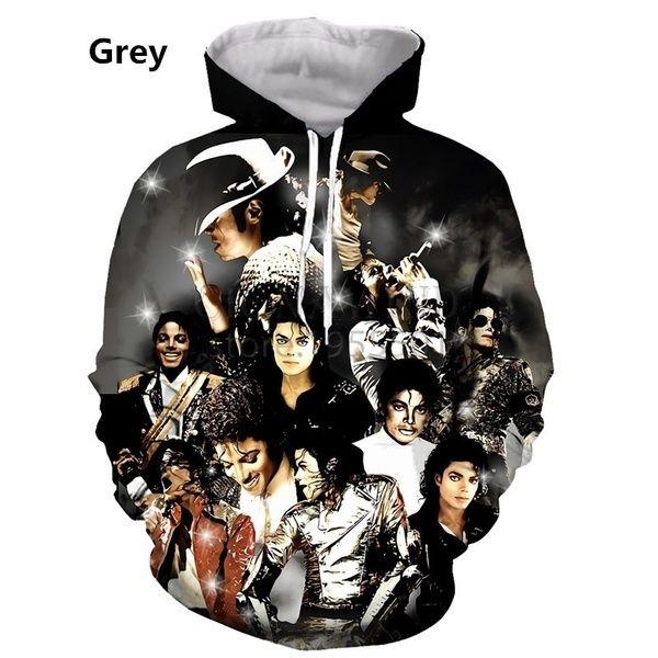 Michael Jackson3D Print Hoodies New Mens Womens Casual Pullover Sweatshirts Tops