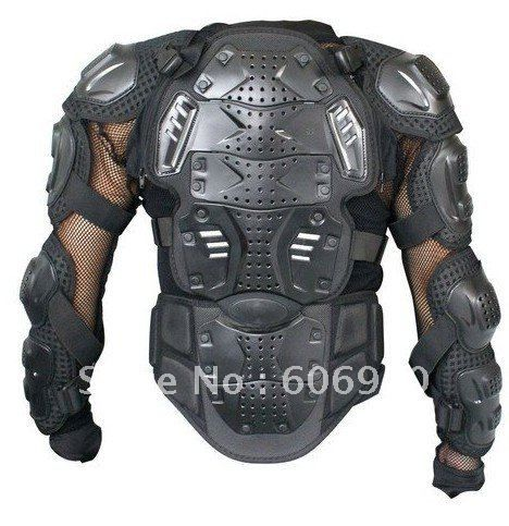 Auto Racing Jacket on Brand New Fox Motorcycle Full Body Armor Racing Jacket Black Picture