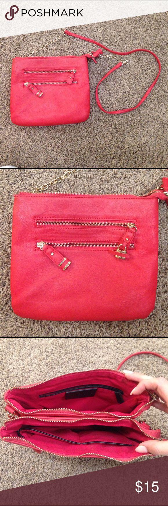 Women's Crossbody Bag Red. Lots of pockets! Charming Charlie. Charming Charlie Bags Crossbody Bags