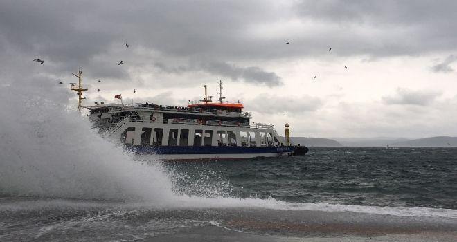Fırtına Nedeniyle Ada seferleri iptal Edildi!..