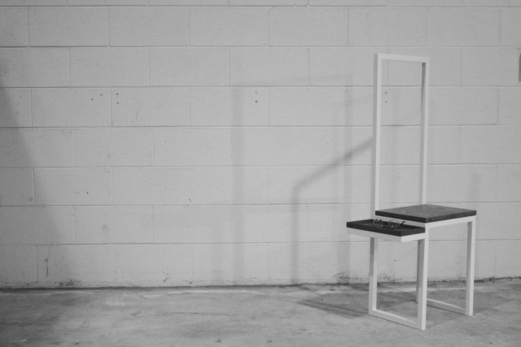 """hall chair white powder coated SS """"alloverit"""""""