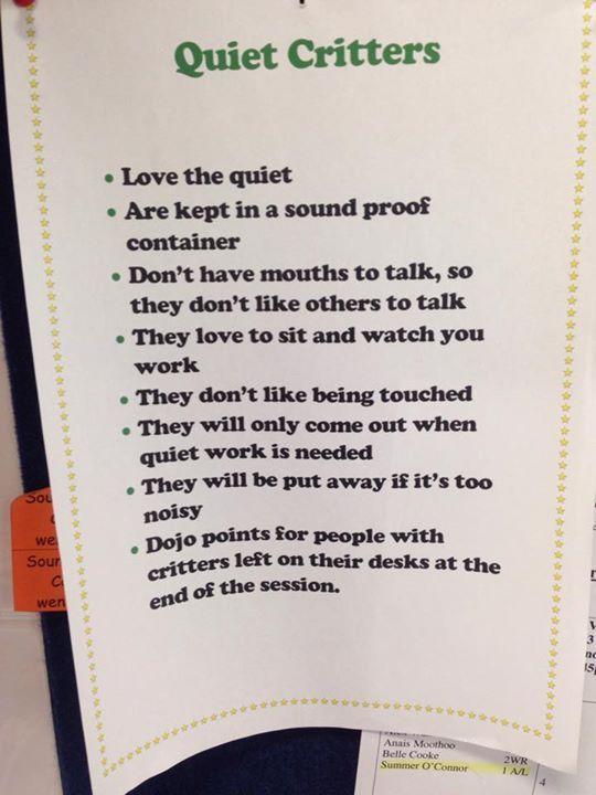 Quiet Critters                                                       …