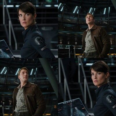 Steve rogers and maria hill