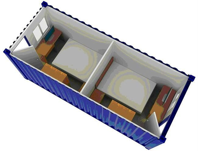 Container Inner Dimensions House - Buy 40ft Container Dimensions ...