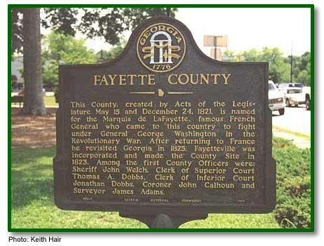 Fayette County Georgia Fayetteville