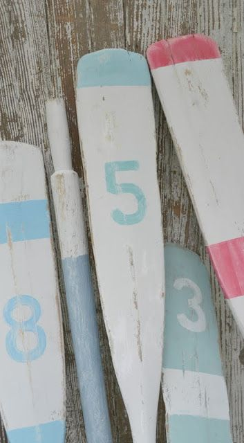 25 Best Ideas About Painted Oars On Pinterest