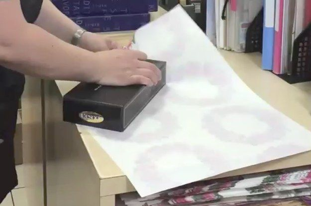 Stop everything and watch this one life-changing wrapping hack. Gift wrapping just got a lot less stressful!