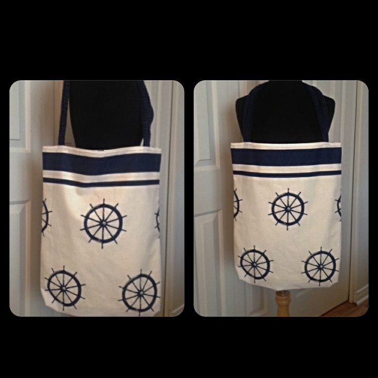 Spring 2014 Collection Captain's Wheel Tote