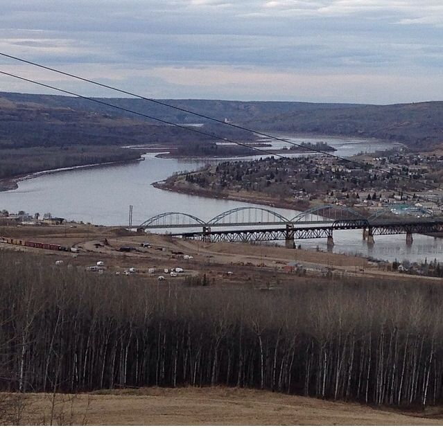 Peace River, Alberta.