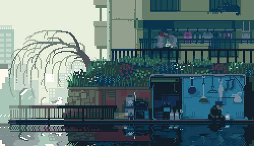 Nostalgic GIFs of Everyday Life In Japan Animated by Yuuta Toyoi