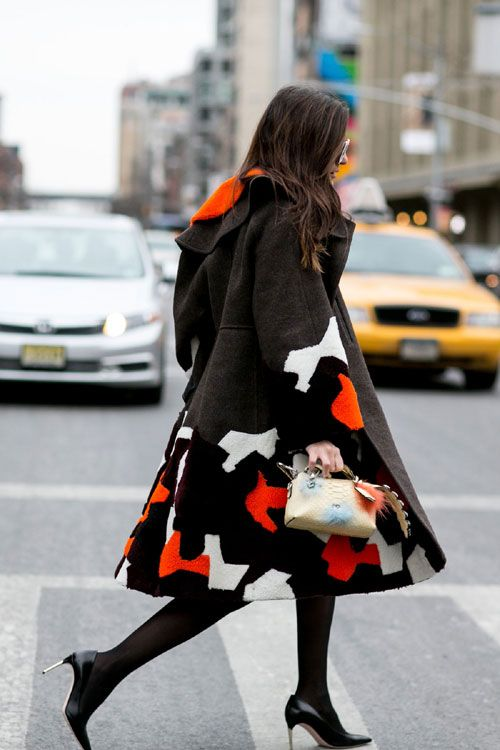 New York Fashion Week - Best streetstyle looks (10) - Elle.ro
