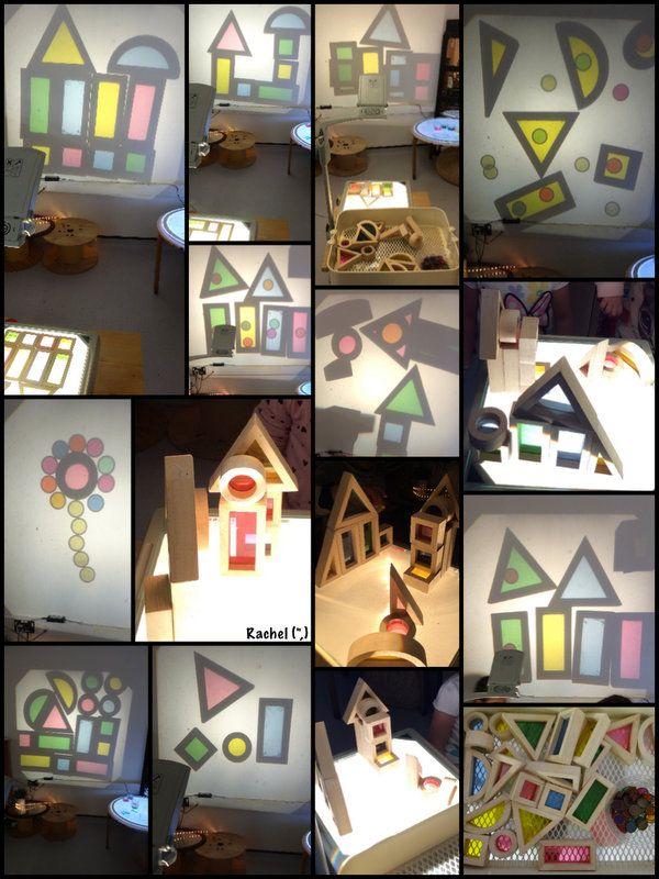 "Rainbow blocks on the OHP - from Rachel ("",)"