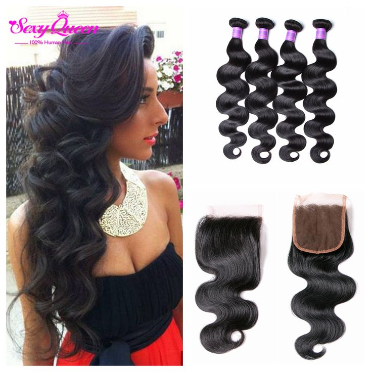 Find More Human Hair Weft with Closure Information…