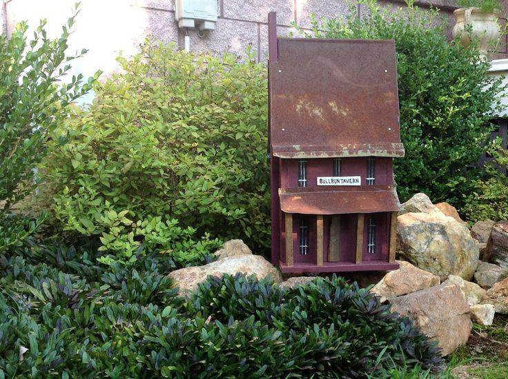 Handmade Birdhouse  Old Tin Roof  BULLRUN by southernprettys, $85.00