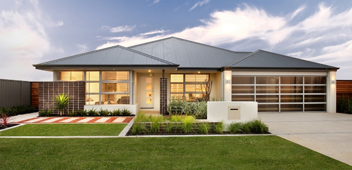 Home Buyers Centre Home Designs: Verve - Optional Elevation 1. Visit www.localbuilders.com.au/home_builders_perth.htm to find your ideal home design in Perth