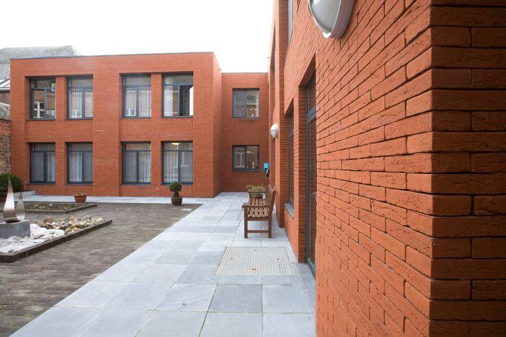 Cigla Vandersanden Terra Rood. #BrickHouse #fasada