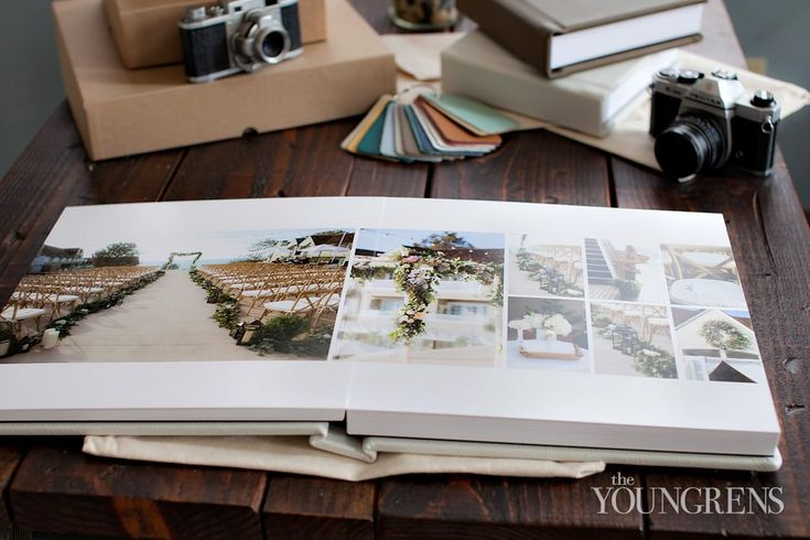 wedding album layout (The Youngrens)