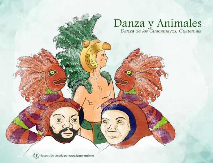 Es una danza guatemalteca de orígen Maya, en el que muestra a  las guacamayas como animales que representan el sol. #Sigaladanza #DanzayAnimal