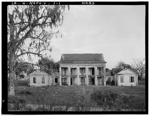 woodlwan plantation in napoleonville, la. taken in the 30s. the last of it disappeared in the 80s.