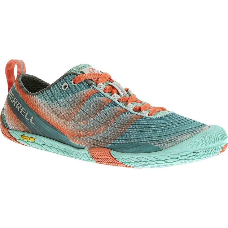 Merrell - Vapor Glove 2 Trail Running Shoe - Women's - Sea Blue/Coral