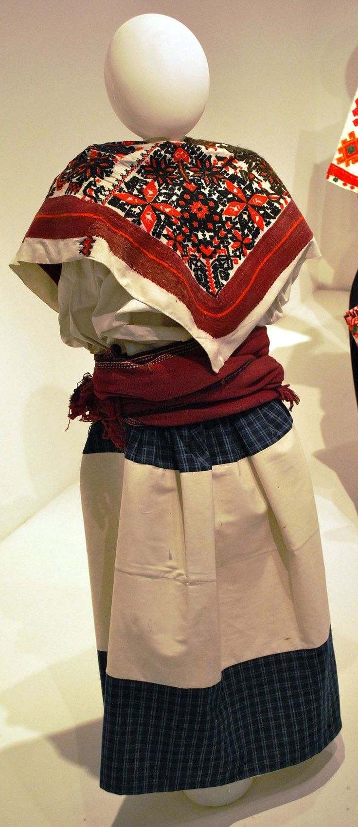 Traditional Mixtec Woman's Outfit