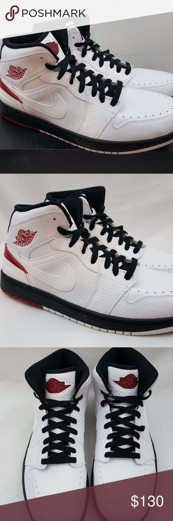 Nike Air Jordan 1 Retro '86 Size 10.5 Nike Air Jordan 1 Retro '86 White Gym Red Black Lifestyle 644490 101 Size 10.5 Brand: Nike Name: Air Jordan 1 Retro '86 Colorway: White Red Style Code: 644490 101 Year of Release: 2014 Size: 10.5 Condition: Brand new with box. Box is missing the lid. Included Accessories: NA Additional Information: 100% authentic merchandise or your payment will be refunded in full. Air Jordan Shoes Athletic Shoes