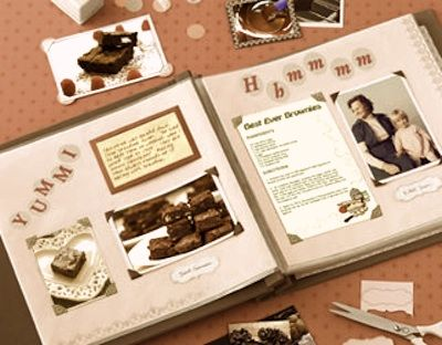scrapbooking recipes - Google Search
