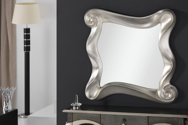 Espejos en plata espejos para consolas espejos redondos for Espejos plateados