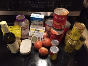Chicken Caccictoire Freezer Meal