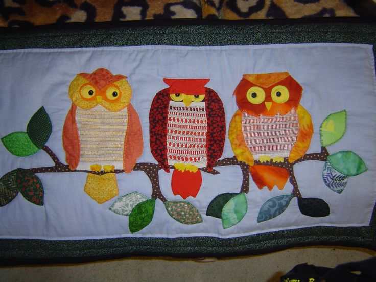 My owl wall hanging